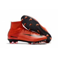 NK Mercurial Superfly V FG boots-Orange picture and image