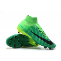 NK Mercurial Superfly V FG boots-Green picture and image