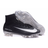NK Mercurial Superfly V FG boots-Black picture and image