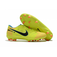 NK Mercurial Vapor XI NJR FG Soccer Cleats-Yellow picture and image