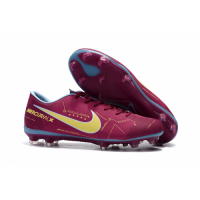 NK Mercurial Vapor XI NJR FG Soccer Cleats-Marroon picture and image