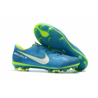 NK Mercurial Vapor XI NJR FG Soccer Cleats-Blue picture and image