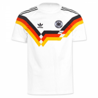 1990 West Germany Retro Home Soccer Jersey Shirt picture and image