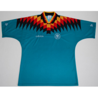 1994 West Germany Retro Away Green Soccer Jersey Shirt picture and image
