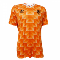 1988 Netherlands Retro Home Soccer Jersey Shirt picture and image