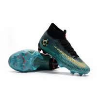 NIKE Mercurial Superfly VI CR7 Elite FG boots-Green&Black picture and image