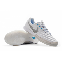 NK TimpoX Finale IC Soccer Cleats-White&Gray picture and image