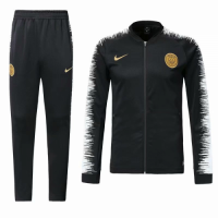 18-19 PSG Black&White V-Neck Training Kit(Jacket+Trousers) picture and image