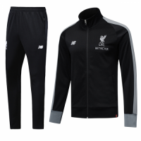 18-19 Liverpool Black High Neck Collar Training Kit(Jacket+Trouser) picture and image