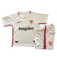 18-19 Sevilla Home White Children's Jersey Kit(Shirt+Short) picture and image