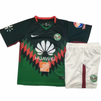 18-19 Club America Fourth Away Green Children's Jersey Kit(Shirt+Short) picture and image