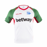 18-19 Deportivo Alavés Third Away Green&White Jersey Shirt picture and image