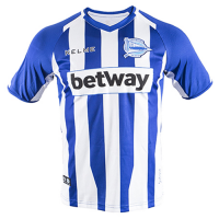 18-19 Deportivo Alavés Home Blue&White Jersey Shirt picture and image