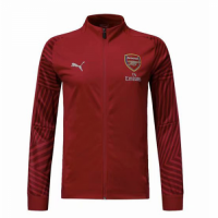 18-19 Arsenal Red High Neck Collar Training Jacket picture and image