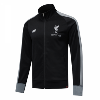 18-19 Liverpool Black High Neck Collar Training Jacket picture and image