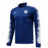 18-19 Chelsea Blue&White V-Neck Training Jacket picture and image