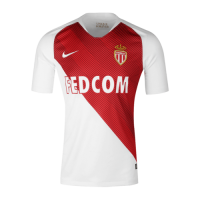 18-19 AS Monaco FC Home Soccer Jersey Shirt picture and image
