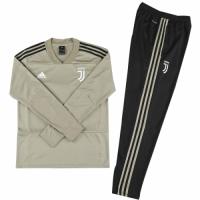 Kids 18-19 Juventus Gray Sweat Shirt Kit(Top+Trouser) picture and image