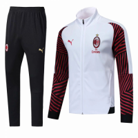 18-19 AC Milan Red&White Training Kit(Top+Trouser) picture and image