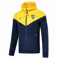 18-19 Boca Juniors Yellow Woven Windrunner picture and image