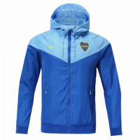 18-19 Boca Juniors Blue Woven Windrunner picture and image