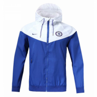 18-19 Chelsea Blue&White Woven Windrunner picture and image