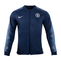 18-19 Chelsea Navy&Gray V-Neck Training Jacket picture and image