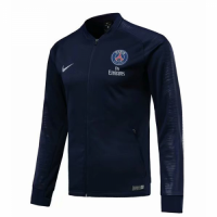 18-19 PSG Navy V-Neck Track Jacket picture and image