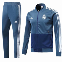 18-19 Real Madrid Blue Training Kit(Jacket+Trouser) picture and image