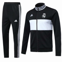 18-19 Real Madrid Black Training Kit(Jacket+Trouser) picture and image