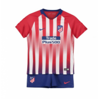 18-19 Atletico Madrid Home Children's Jersey Kit(Shirt+Short) picture and image