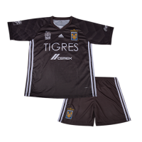 18-19 Tigres UANL Third Away Gray Children's Jersey Kit(Shirt+Short) picture and image