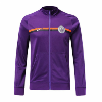 18-19 Manchester City Purple Training Jacket picture and image