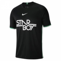 2018 World Cup Nigeria Black Training Shirt picture and image