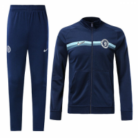 18-19 Chelsea Navy Training Kit(Jacket+Trousers) picture and image