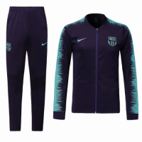 18-19 Barcelona Purple&Blue Training Kit(Jacket+Trouser) picture and image