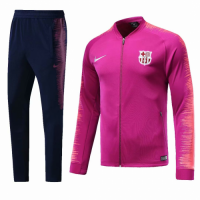 18-19 Barcelona Pink&Navy Training Kit(Jacket+Trouser) picture and image