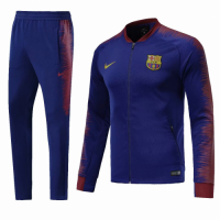 18-19 Barcelona Navy&Red Training Kit(Jacket+Trouser) picture and image