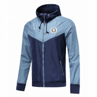 18-19 Chelsea Blue Woven Windrunner picture and image
