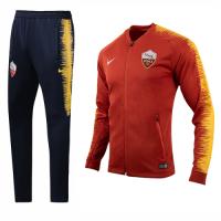 18-19 Roma Orange&Navy V-Neck Training Kit(Jacket+Trousers) picture and image
