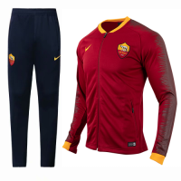 18-19 Roma Red&Navy V-Neck Training Kit(Jacket+Trousers) picture and image