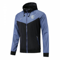 18-19 Inter Milan Blue&Black Woven Windrunner picture and image