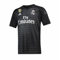 18-19 Real Madrid Goalkeeper Black Jersey Shirt picture and image
