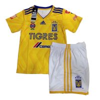 18-19 Tigres UANL Home Yellow Children's Jersey Kit(Shirt+Short) picture and image