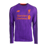 18-19 Liverpool Away Purple Long Sleeve Jersey Shirt picture and image