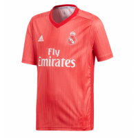 18-19 Real Madrid Third Away Red Soccer Jersey Shirt picture and image