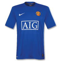 07-08 Manchester United Third Away Retro Jerseys Shirt picture and image
