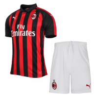 18-19 AC Milan Home Soccer Jersey Shirt picture and image