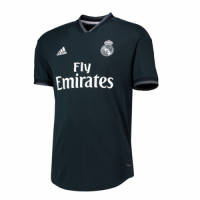 18-19 Real Madrid Away Dark Navy Soccer Jersey Shirt(Player Version) picture and image