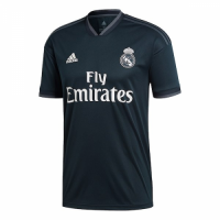 18-19 Real Madrid Away Dark Navy Soccer Jersey Shirt picture and image